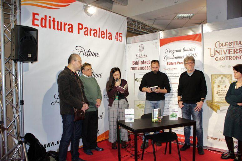 """Lavinia & Constantin Bălulescu: """"Zmeii sunt de treabă"""" Gaudeamus 2018"""