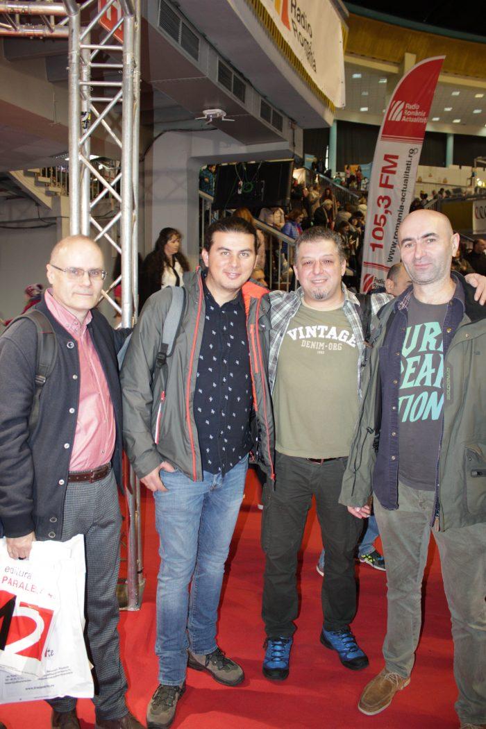 Gaudeamus 2018 - Florin Hălălău, Marius Surleac, Leonard Ancuța & Ilieș Gorzo
