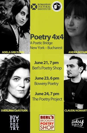 Pod poetic New York-București